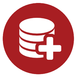 Data Backup Cloud Service Icon