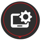 ICT Hardware & Software Service Icon